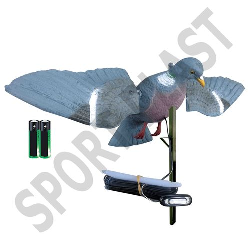 "Rotating Wings Wood Pigeon ""Low Cost"""